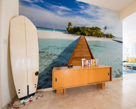 Tropical Paradise wall mural wallpaper